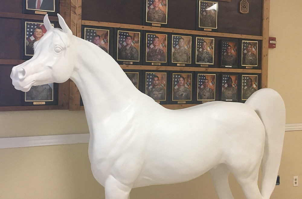 Arabian Horse For Humanity Fort Hood Hero artist to be determined