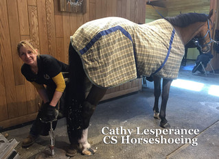CS Horseshoeing, Cathy Lesperance