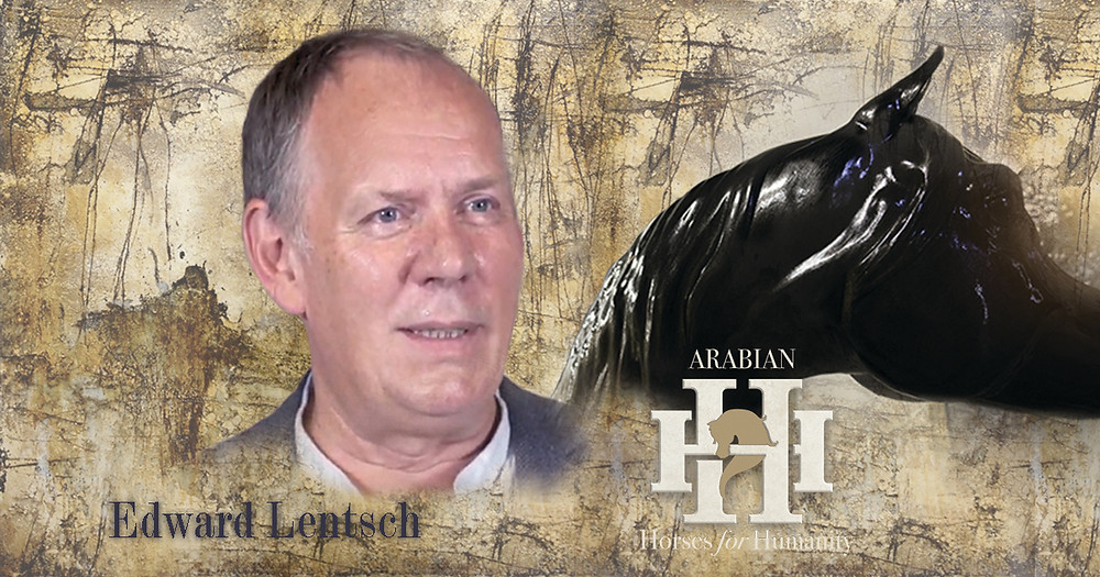 Edward Lentsch newest artist for Arabian Horses For Humanity project