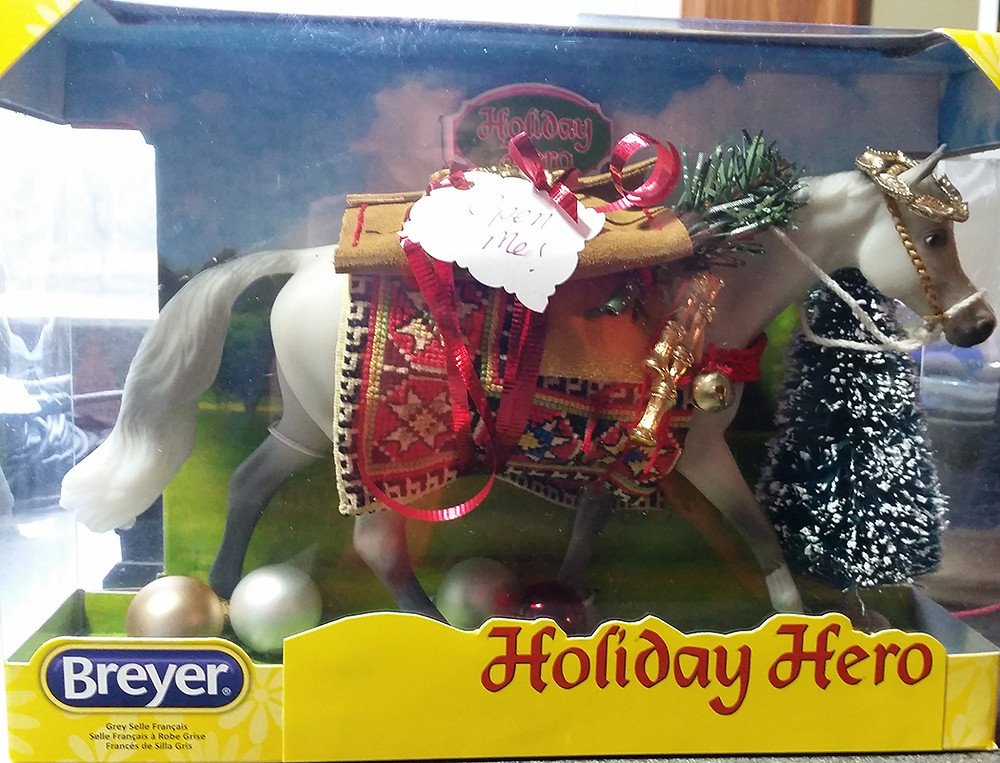 Custom Holiday Breyer by TeamTrox 2015