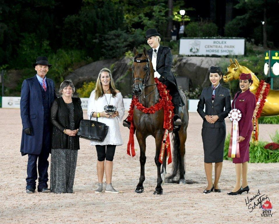 2017 Arabian US Open CSP Hennessy and Dr. Nancy O'Reilly