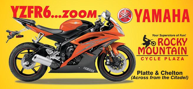 RMCP Yamaha YZFR6 30sht Poster