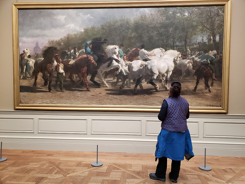 The Horse Fair, Rosa Bonheur Metropolitan Museum of Art