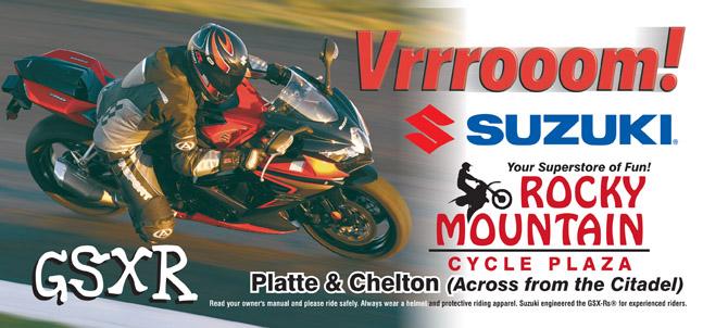 RMCP Suzuki GSXR 30sht Poster