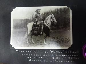 *Muson and Buffalo Bill