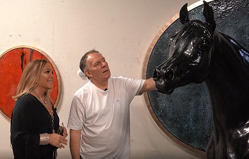 Edward Lentsch & Gretchen Ventura collaboration