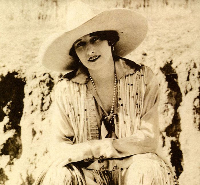 Champion rider and cowgirl Vera McGinnis