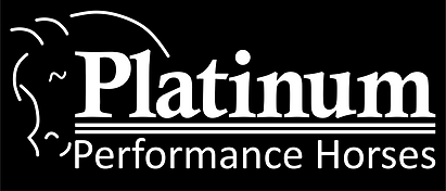 Platinum Performance Logo White On Black