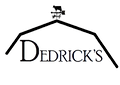 Dedrick logo with cow and transparent ba