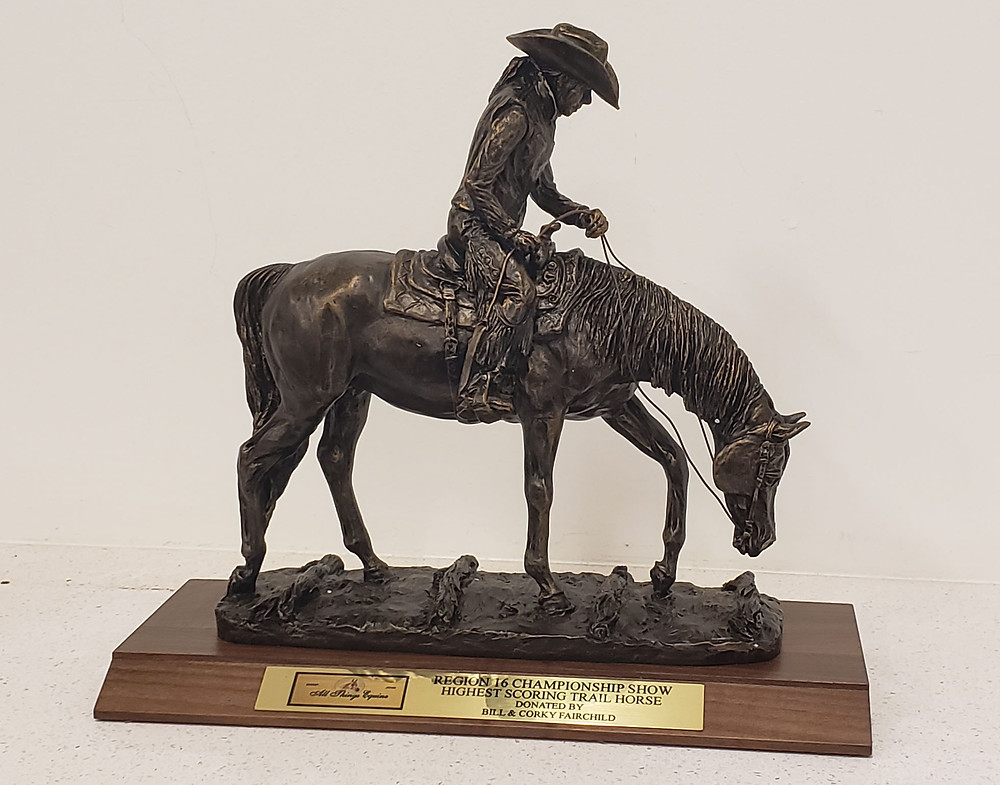 All Things Equine trophy by Nancy Weimer Belden