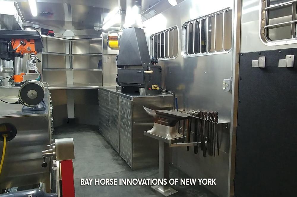 Bay Horse Innovations of New York Custom Farrier Interior for Ian Curry