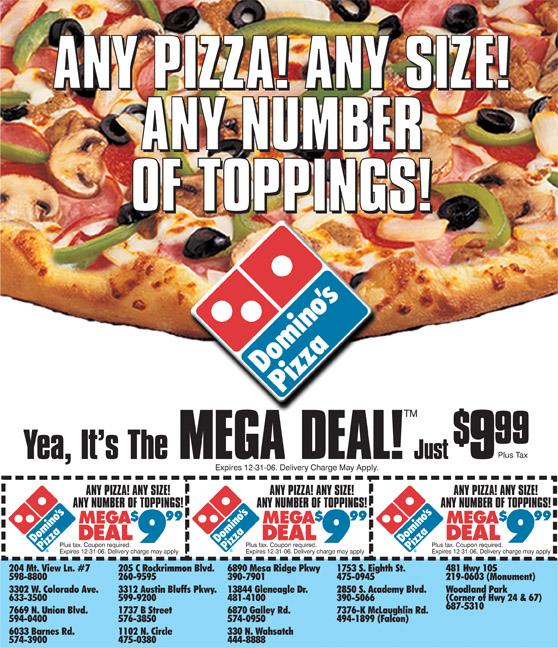 DP ADVO Front Mega Deal June 06