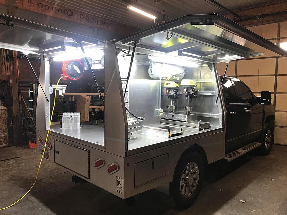 Bay Horse Innovations of New York Custom Farrier Rig for Tom Peterson