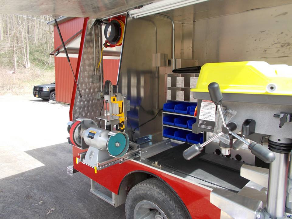 Custom Farrier Rig by Bay Horse Innovations of New York
