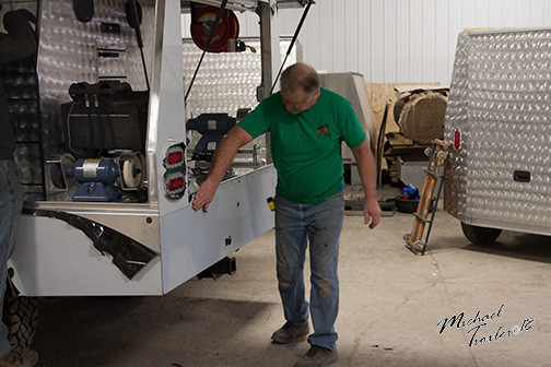 Farrier Rig Bay Horse Innovations of New York