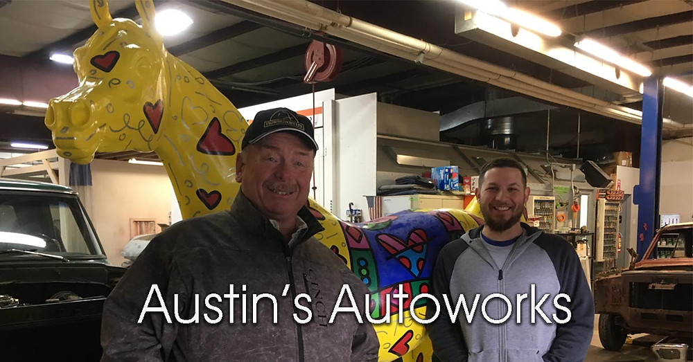 Austins Autoworks with Arabian Horse For Humanity Braveheart