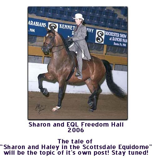 Sharon and EQL Freedom Hall