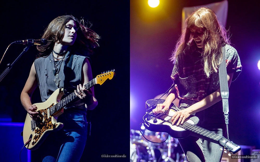 Larkin Poe at the New York State Blues Fest by professional photographer Michael Troxler