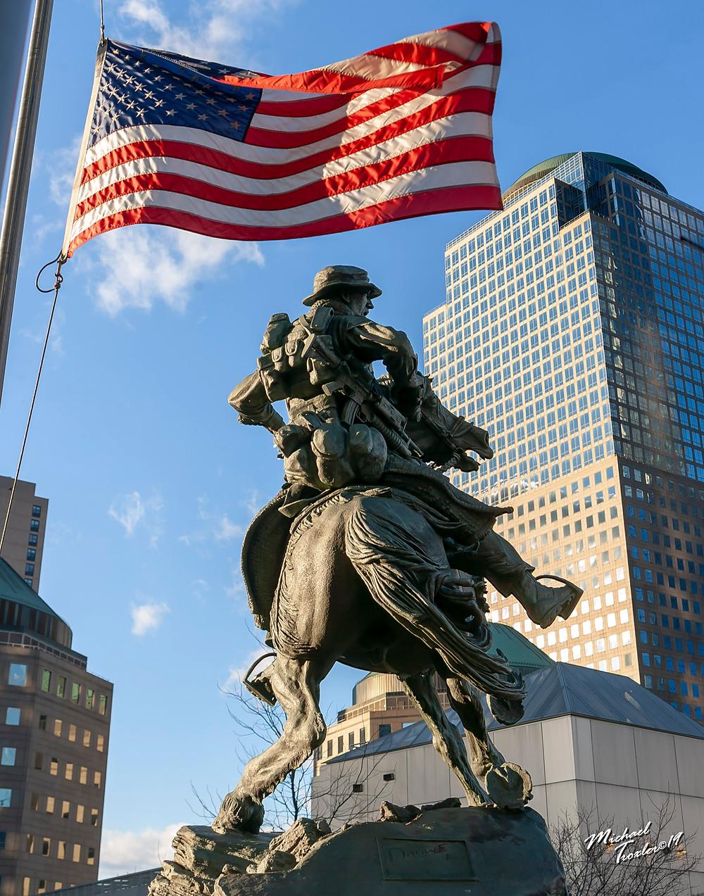 Americas Response Monument artist Douwe Blumberg photographer Michael Troxler