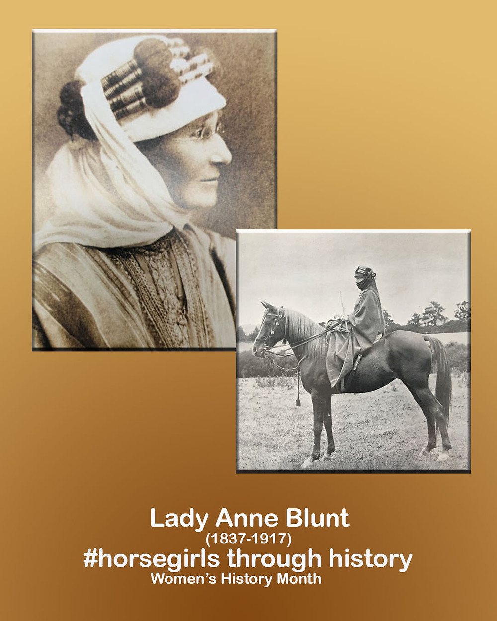 Lady Anne Blunt, ahead of her time in defying conventions