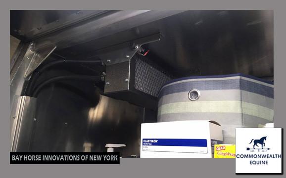 Custom Truck for Bay Horse Innovations of New York for Commonwealth Equine