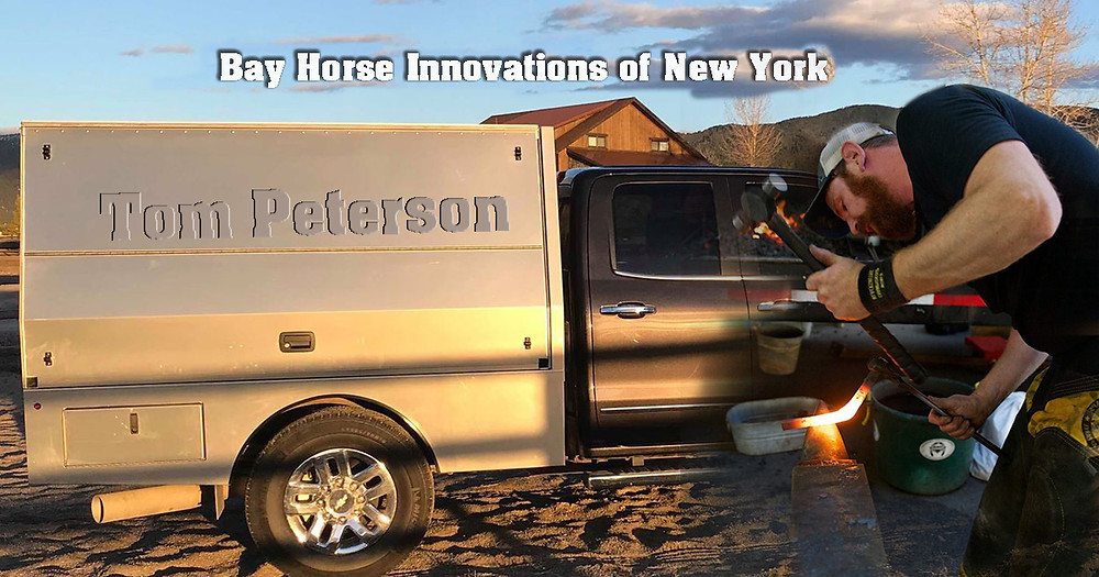 Bay Horse Innovations of New York Custom Farrier Rig for Tom Peterson