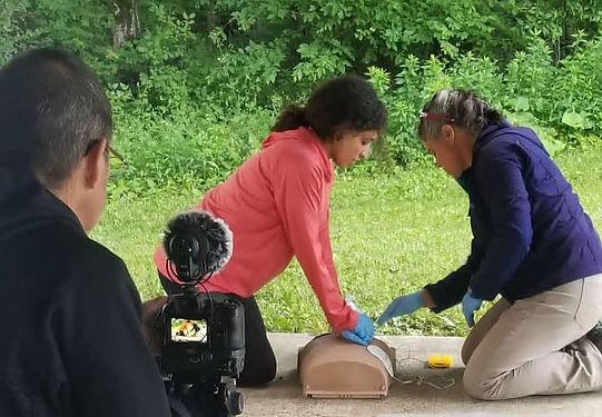 Wilderness medicine training CPR training