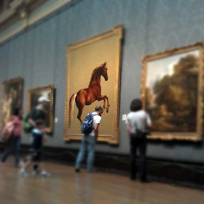 Whistlejacket National Gallery London