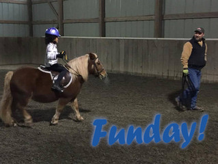 Saturdays are Fun-Days at Ryan Show Horses!