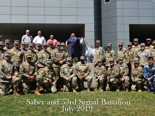 Saber and the 53rd Signal Battalion