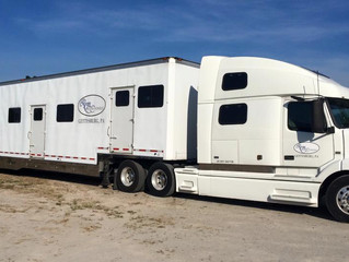 Ryan Show Horses-On The Road to Tulsa