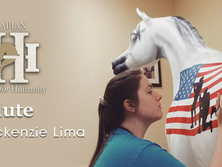 Congratulations to Mackenzie Lima!  Winner of the Fort Hood Hero Art Contest