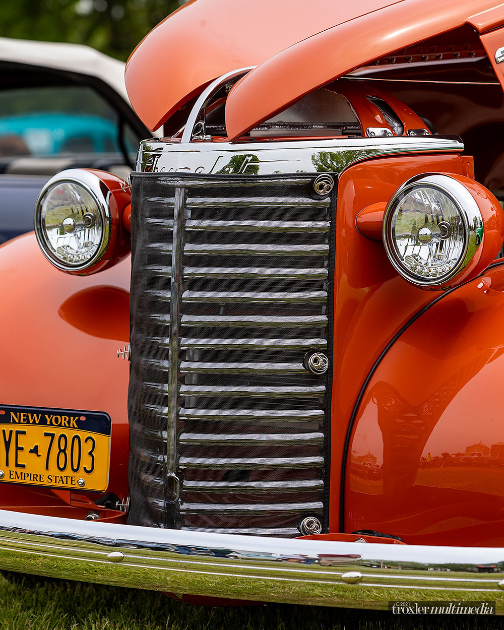 New York  professional photographer Mike Troxler photo of 1940  Collector car, Chevy Pickup