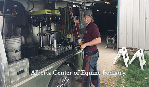 Custom farrier rig for ACEP by Bay Horse Innovations of New York