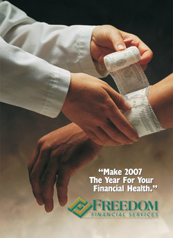 Freedom Financial Reach Cover 2007 #1