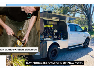 New Rig for Nick Ward Farrier Services