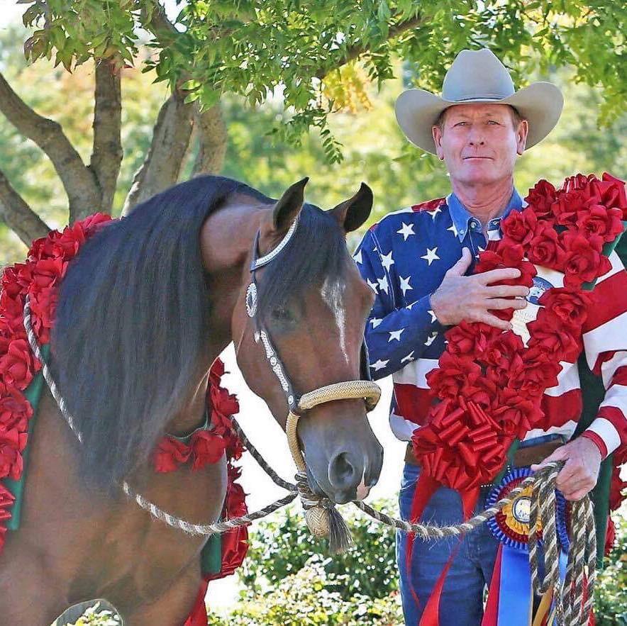 2017 US National Champion Arabian Trail Junior Horse Abilene Mac V+ and Lou Roper