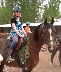 Horse back riding camp in Albuquerque New Mexico