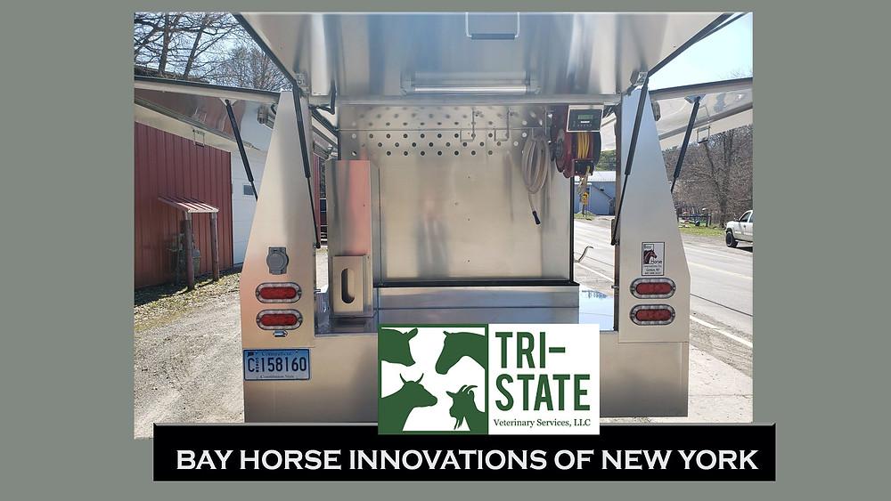 Custom Vet Rig Mobile Veterinary Clinic by Bay Horse Innovations of New York