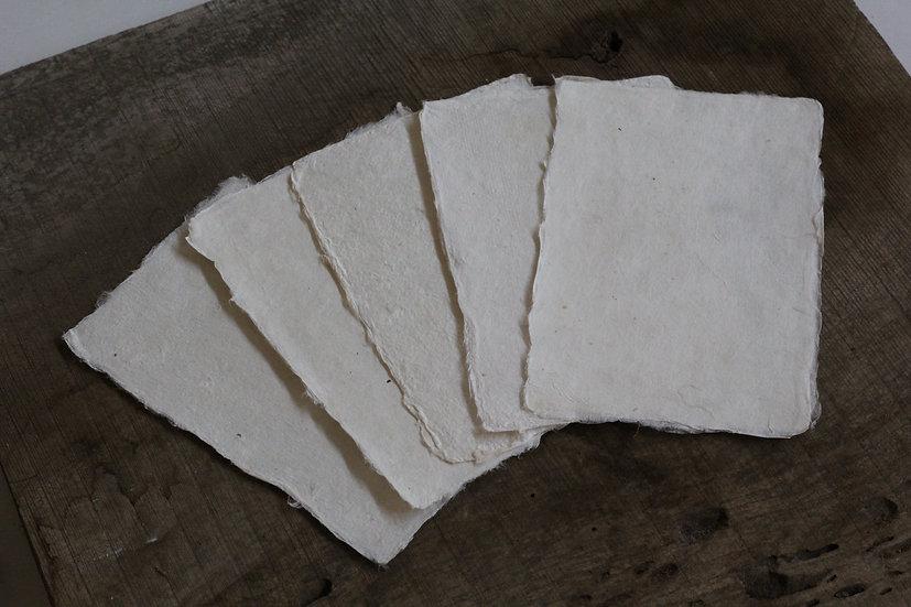 手漉き和紙5枚セット