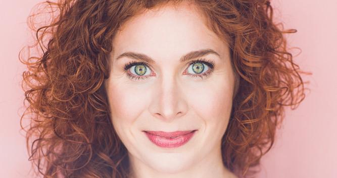 Dana Aber comic headshot
