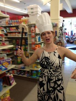 Dana likes to cook