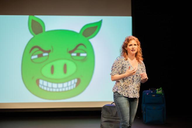 Dana introduces the 'Bad Piggies'