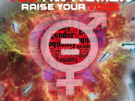 #YesAllWomen RAISE YOUR VOICE, NYC