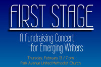 Fundraising for new writers at First Stage