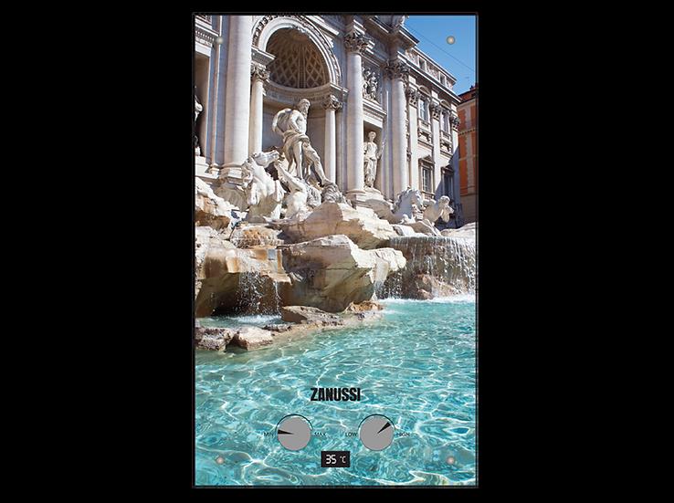 Газовый проточный водонагреватель Zanussi GWH 10 Fonte Glass Trevi