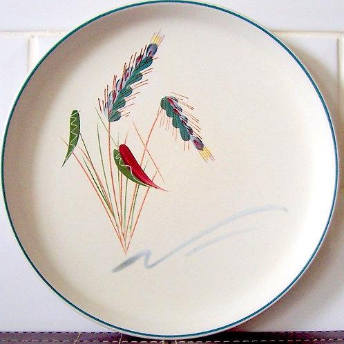 Denby Greenwheat Salad Dessert Plate