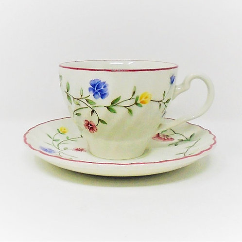 Johnson Brothers Summer Chintz Cup and Saucer