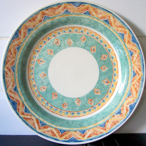 Churchill Ports of Call Kabul Large Dinner Plate