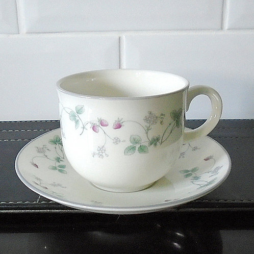 Royal Doulton Strawberry Fayre Cup and Saucer